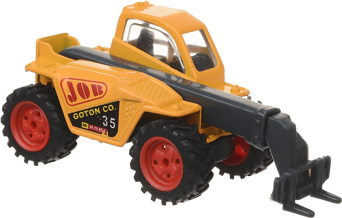Pioneer Toys Машинка Строительная техника Экскаватор цвет желтый технопарк набор машинок строительная техника экскаватор трактор 2 шт