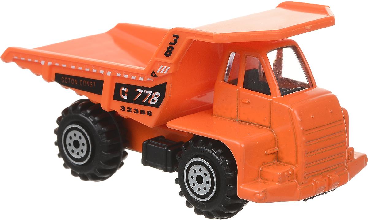 Pioneer Toys Машинка Строительная техника цвет оранжевый машины taiko zoom строительная техника кран радиоуправляемый