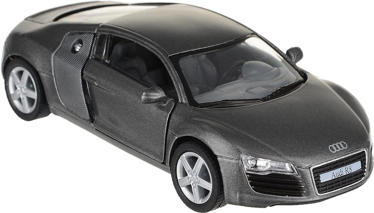 Kinsmart Модель автомобиля Audi R8 цвет темно-серый