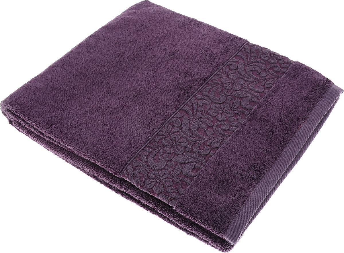 Полотенце Issimo Home Valencia, цвет: пурпурный, 90 x 150 см00000005592Полотенца из бамбука только издали похожи на обычные. На самом деле, при первом же прикосновении Вы ощутите насколько эти полотенца мягкие и нежные! Таким полотенцем не нужно вытираться - только коснитесь кожи - и ткань сама все впитает! Такая ткань впитывает в 3 раза лучше, чем хлопок! Набор из маленьких полотенец-салфеток очень практичен – он станет незаменимым в дороге и в путешествиях. Кроме того, это хороший, красивый и изысканный сувенир для всех, кому хочется подарить подарок. Лицевые и банные полотенца выполнены в наиболее оптимальных размерах и плотности – несмотря на богатую плотность и высокую петлю полотенец, они быстро сохнут, остаются легкими даже при намокании. Коллекция бамбуковых полотенец имеет красивый жаккардовый бордюр, выполненный с орнаментом в цвет полотенец.