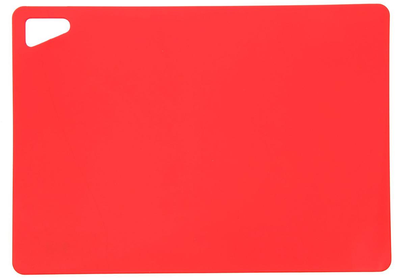 Доска разделочная ИскраПласт Доска разделочная гибкая 340х240х2 мм, цвет красный 2331791, гибкая, цвет: красный, 33 х 23,5 х 0,2 см2331791От качества посуды зависит не только вкус еды, но и здоровье человека. Доска— товар, соответствующий российским стандартам качества. Любой хозяйке будет приятно держать его в руках. С такой посудой и кухонной утварью приготовление еды и сервировка стола превратятся в настоящий праздник.