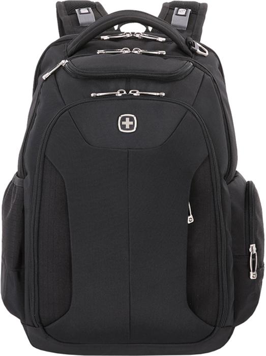 Рюкзак Wenger, цвет: черный, 31 л