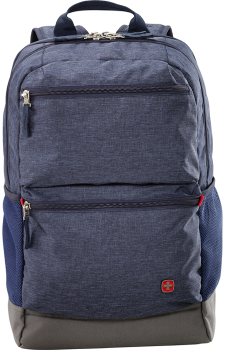 Рюкзак Wenger, цвет: синий, 22 л wenger wenger рюкзак для ноутбука синий