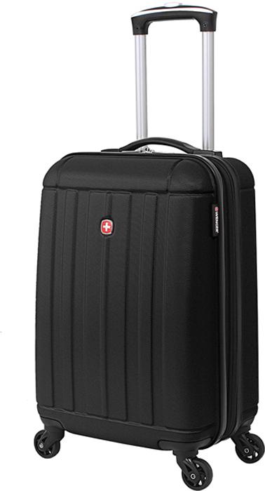 Чемодан Wenger Uster, цвет: черный, 37 л чемодан для ручной клади sunvoyage venice sv015 ac028 20