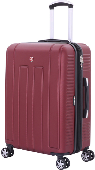 Чемодан Wenger Vaud, цвет: бордовый, 66 л чемодан wenger vaud 47x23x35cm 38l bordo 6399131154