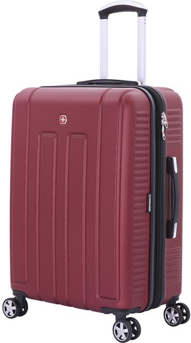 Чемодан Wenger Vaud, цвет: бордовый, 99 л чемодан wenger vaud 47x23x35cm 38l bordo 6399131154