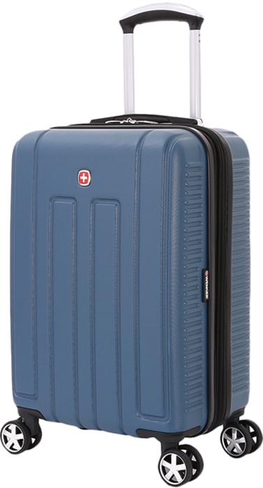 Чемодан Wenger Vaud, с подставкой для кофе, цвет: синий, 38 л чемодан wenger vaud 47x23x35cm 38l bordo 6399131154
