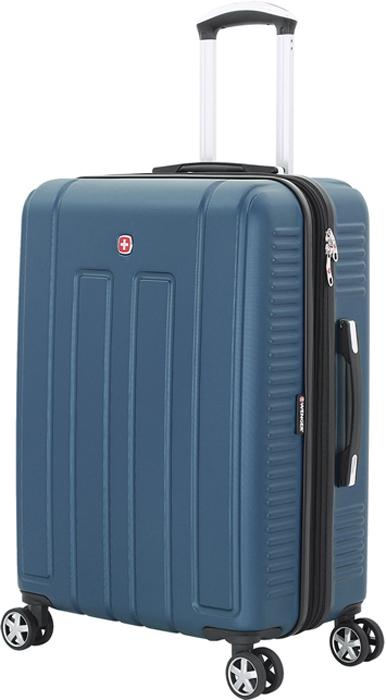 Чемодан Wenger Vaud, цвет: синий, 99 л чемодан wenger vaud 47x23x35cm 38l bordo 6399131154