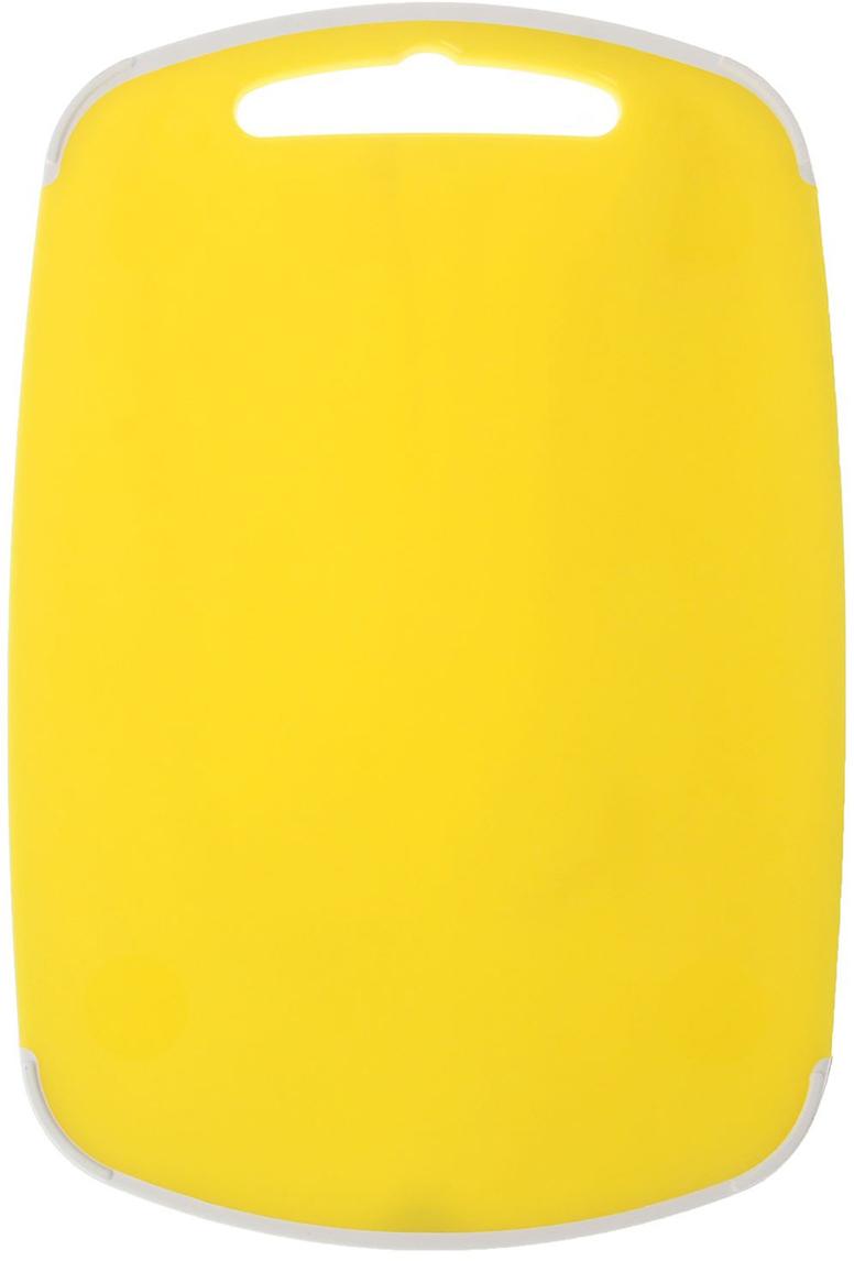 Доска разделочная Полимербыт Премиум, цвет: желтый, 29 х 19 х 1 см4380200От качества посуды зависит не только вкус еды, но и здоровье человека. Доска— товар, соответствующий российским стандартам качества. Любой хозяйке будет приятно держать его в руках. С такой посудой и кухонной утварью приготовление еды и сервировка стола превратятся в настоящий праздник.