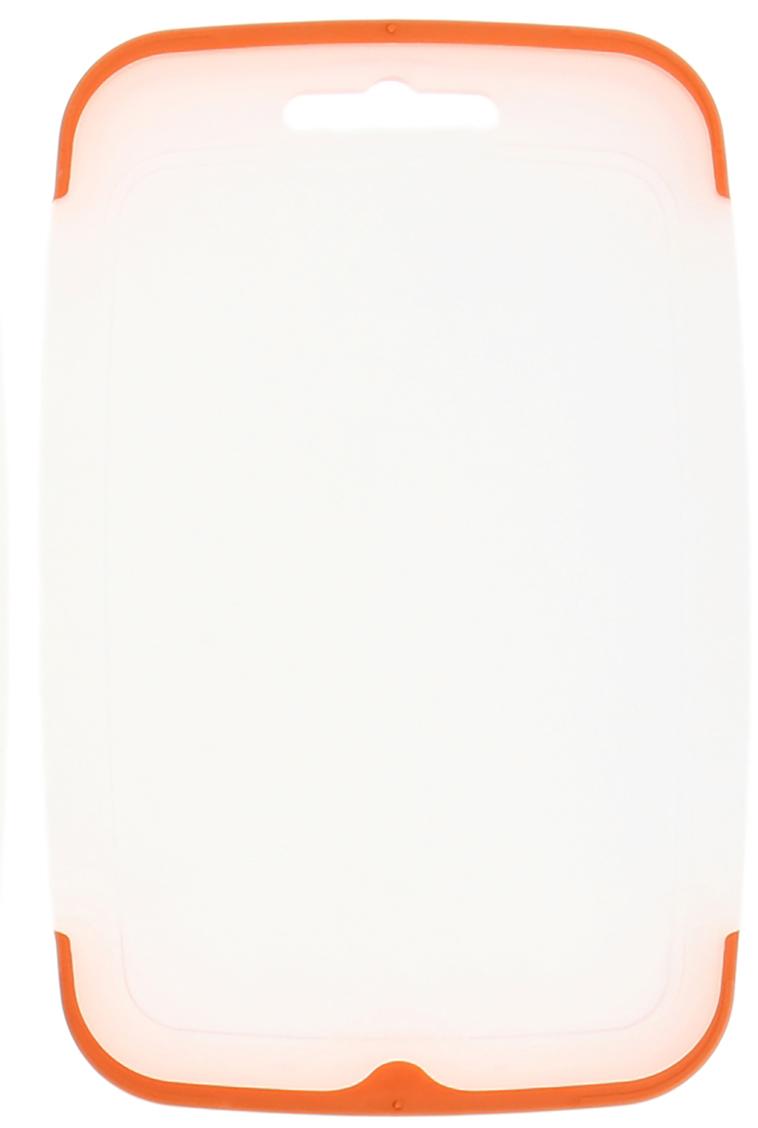 Доска разделочная Полимербыт Экстра, цвет: белый, 22 х 14 х 0,2 см1202113От качества посуды зависит не только вкус еды, но и здоровье человека. Доска— товар, соответствующий российским стандартам качества. Любой хозяйке будет приятно держать его в руках. С такой посудой и кухонной утварью приготовление еды и сервировка стола превратятся в настоящий праздник.