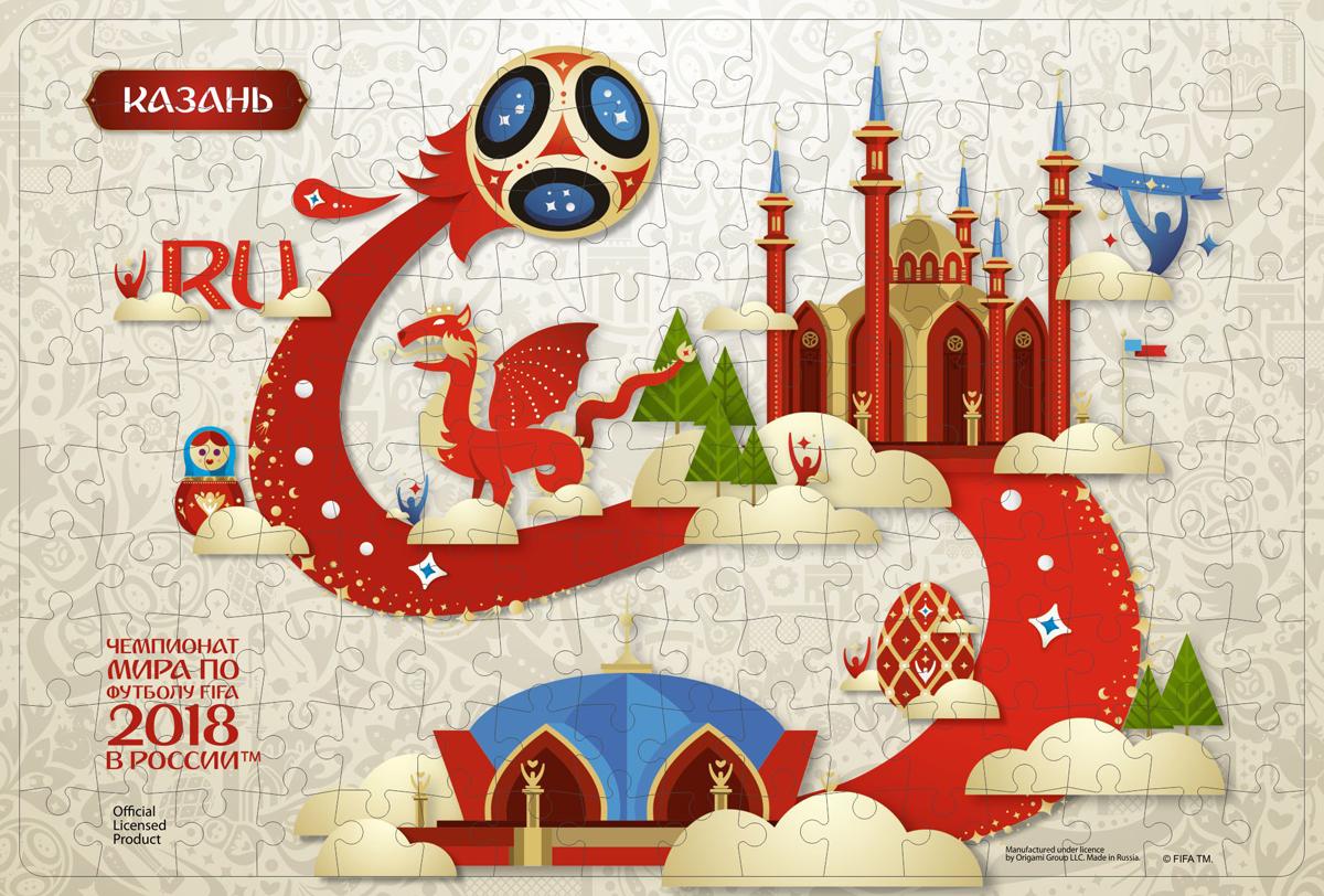 FIFA World Cup Russia 2018 Пазл Look Казань 03818