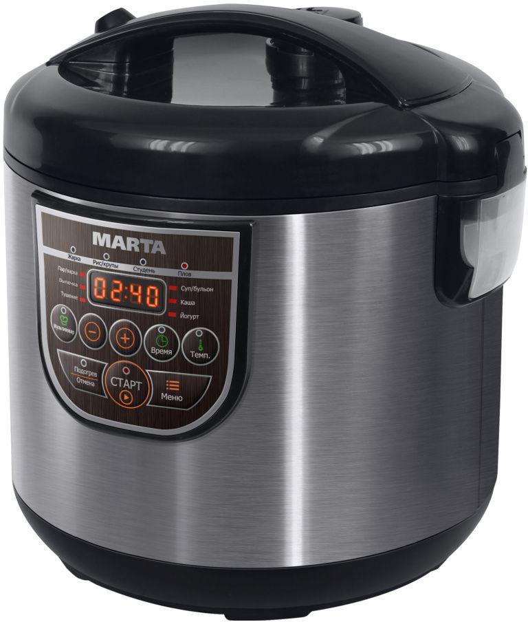 Marta MT-4322, Black Grey мультиварка