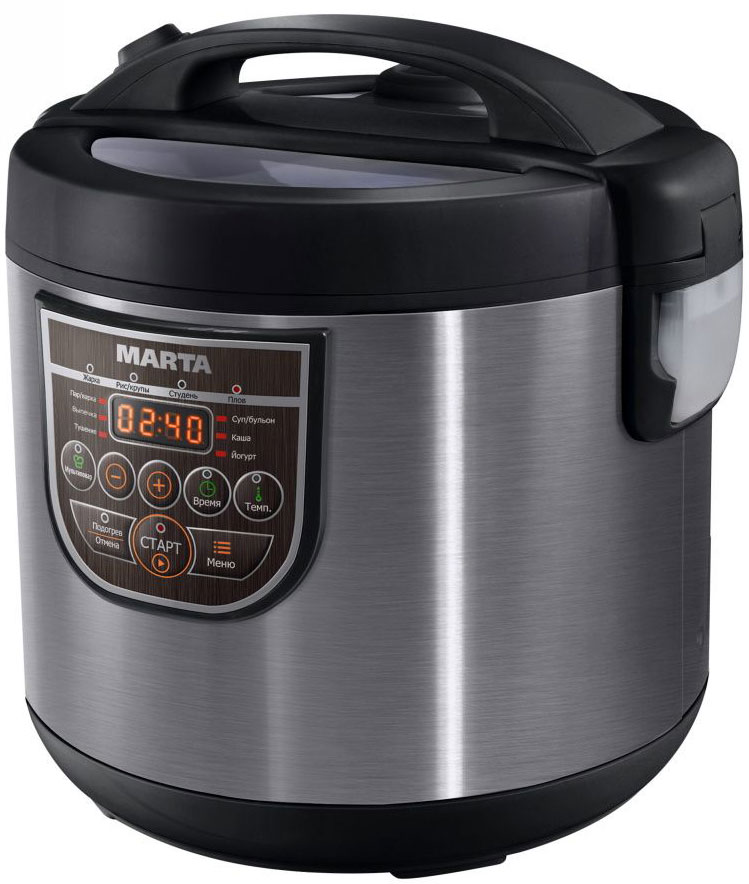 Marta MT-4323, Black Grey мультиварка