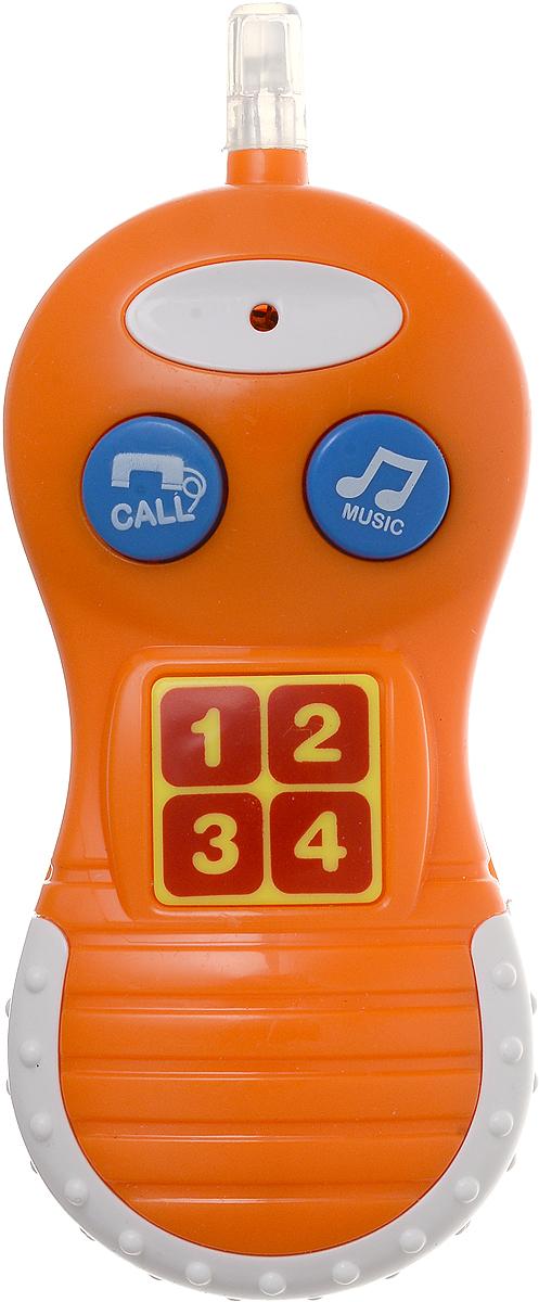 Bampi Электронная игрушка Телефон цвет оранжевый