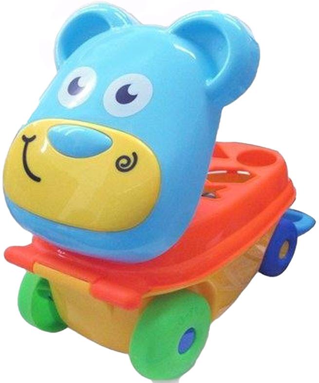 Каталка-сортер Умные игрушки Мишка каталки игрушки mertens каталка обезьянка