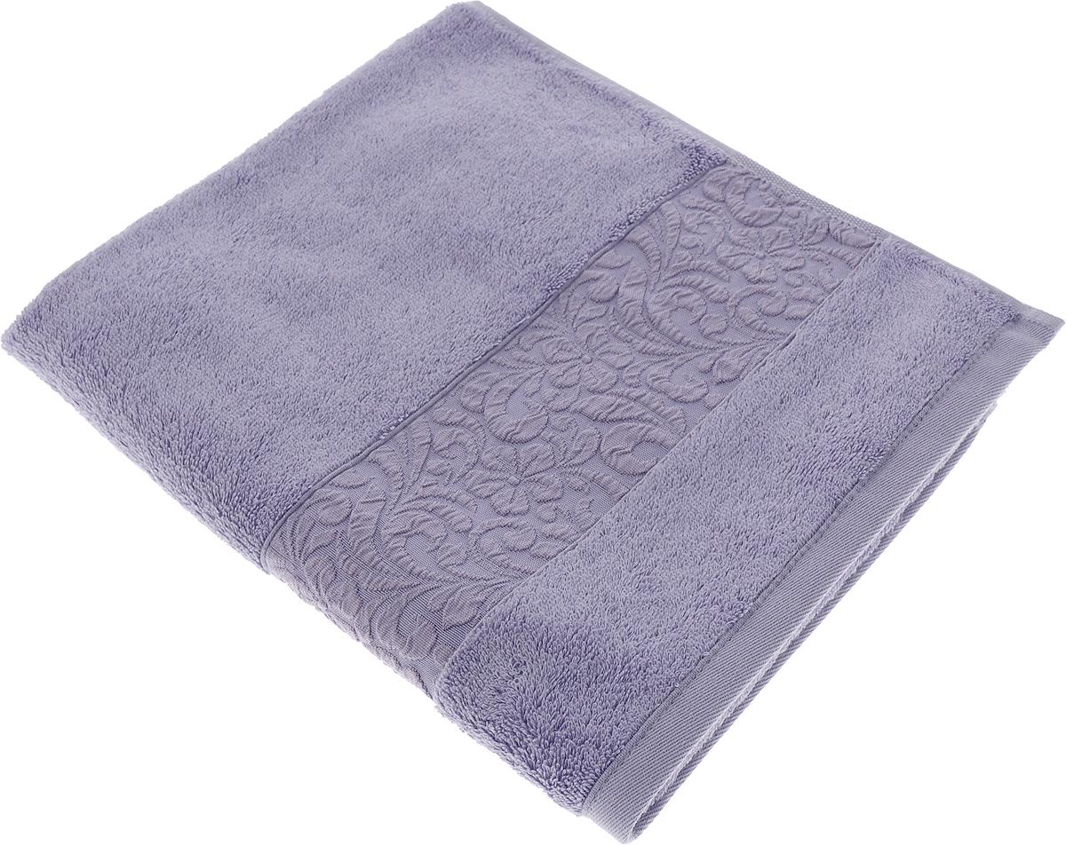 Полотенце Issimo Home Valencia, цвет: фиолетовый, 50 x 90 см00000005582Полотенца из бамбука только издали похожи на обычные. На самом деле, при первом же прикосновении Вы ощутите насколько эти полотенца мягкие и нежные! Таким полотенцем не нужно вытираться - только коснитесь кожи - и ткань сама все впитает! Такая ткань впитывает в 3 раза лучше, чем хлопок! Набор из маленьких полотенец-салфеток очень практичен – он станет незаменимым в дороге и в путешествиях. Кроме того, это хороший, красивый и изысканный сувенир для всех, кому хочется подарить подарок. Лицевые и банные полотенца выполнены в наиболее оптимальных размерах и плотности – несмотря на богатую плотность и высокую петлю полотенец, они быстро сохнут, остаются легкими даже при намокании. Коллекция бамбуковых полотенец имеет красивый жаккардовый бордюр, выполненный с орнаментом в цвет полотенец.