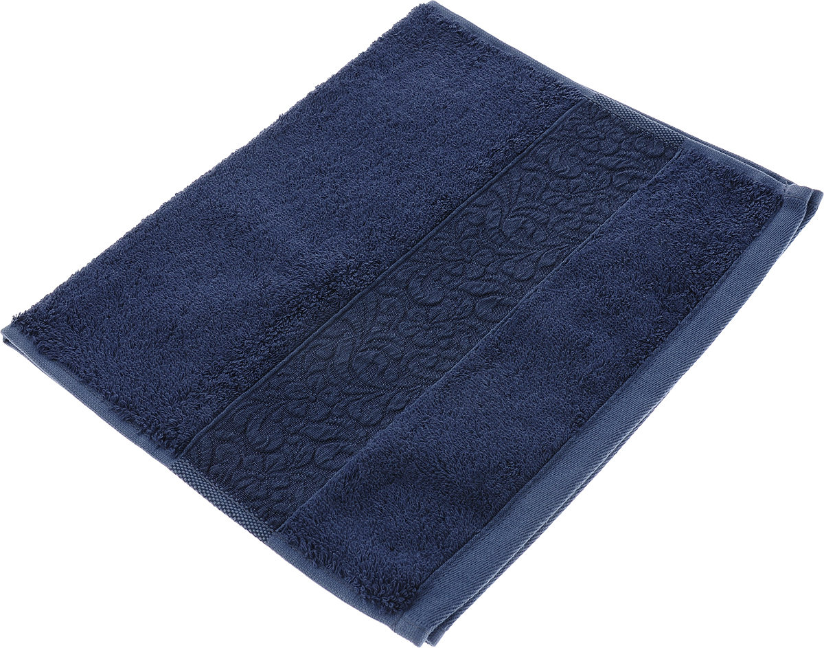Полотенце Issimo Home Valencia, цвет: темно-синий, 30 x 50 см00000005573Полотенца из бамбука только издали похожи на обычные. На самом деле, при первом же прикосновении Вы ощутите насколько эти полотенца мягкие и нежные! Таким полотенцем не нужно вытираться - только коснитесь кожи - и ткань сама все впитает! Такая ткань впитывает в 3 раза лучше, чем хлопок! Набор из маленьких полотенец-салфеток очень практичен – он станет незаменимым в дороге и в путешествиях. Кроме того, это хороший, красивый и изысканный сувенир для всех, кому хочется подарить подарок. Лицевые и банные полотенца выполнены в наиболее оптимальных размерах и плотности – несмотря на богатую плотность и высокую петлю полотенец, они быстро сохнут, остаются легкими даже при намокании. Коллекция бамбуковых полотенец имеет красивый жаккардовый бордюр, выполненный с орнаментом в цвет полотенец.