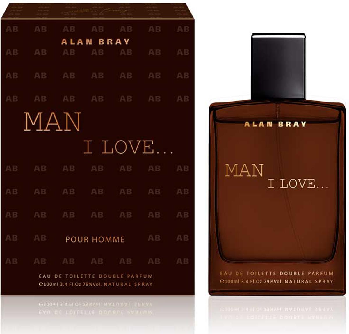 Alan Bray Туалетная вода Man I Love, 100 мл