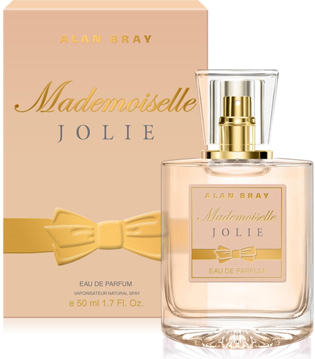 Alan Bray Парфюмерная вода Mademoiselle Jolie, 50 мл серьги mademoiselle jolie paris mademoiselle jolie paris mp002xw13qlo