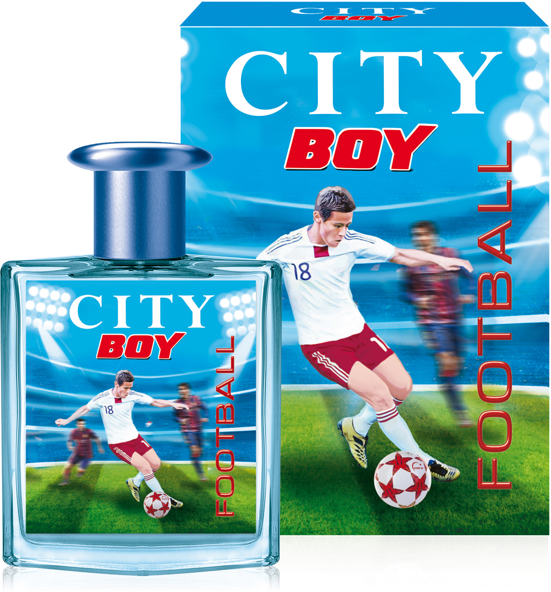 Фото City Parfum Туалетная вода City Boy Football ТВ, 50 мл