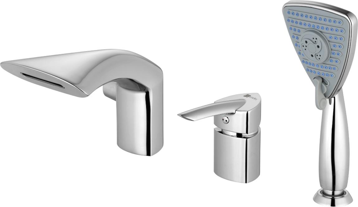 Смеситель Lemark Mars, для ванны, встраиваемый. LM3545CLM3545CСерия смесителей MARS - это воплощение красоты и эргономики в оригинальном дизайне.Комплектация:Каскадный изливЭко-картридж 35 ммПереключатель с керамическими пластинамиАксессуары в комплекте: шланг 2 м, свинцовый отвес, 3-функциональная лейка 91x106 ммМеталлическая рукоятка