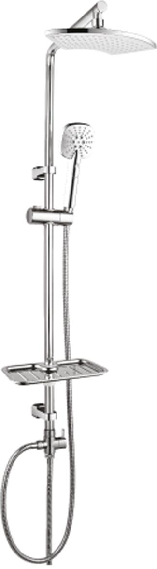 LM8805C.Душевой гарнитур с фиксированной высотой штанги и верхней душевой лейкой «Тропический дождь».Комплектация:• 3-функциональная лейка O100 мм. Режимы: распыление, брызги шампанского, распыление и брызги шампанского• верхняя поворотная душевая лейка «Тропический дождь» 250х125 мм• переключатель с керамическими пластинами• регулируемое по высоте крепление для лейки• регулируемая по высоте мыльница• душевой шланг 1,5 м (стальной, оплетка с двойным загибом)• шланг 0,8 м для подключения к смесителю (стальной, оплетка с двойным загибом)Смесители LEMARK рассчитаны на 30 лет комфортной эксплуатации.В них соединены современные технологии производства и продуманный конструктив. Установлены комплектующие от известных мировых производителей, являющихся лидерами в своих сегментах:• немецкие аэраторы Neoperl – устройства, регулирующие расход воды;• керамические картриджи и кран-буксы испанской фирмы Sedal.Вся продукция LEMARK устанавливается не только в частном секторе, но и с успехом эксплуатируется в офисах Hewlett-Packard, Walt Disney Studios Sony Pictures Releasing, Mail.ru Group, а также в новом терминале аэропорта «Толмачево» в Новосибирске.Сегодня на смесители LEMARK установлен беспрецедентный 10-летний период бесплатного сервисного обслуживания. Данное условие действует, даже если монтаж изделий производится покупателями cамостоятельно.Сервисная сеть насчитывает 90 гарантийных мастерских по России и странам СНГ.