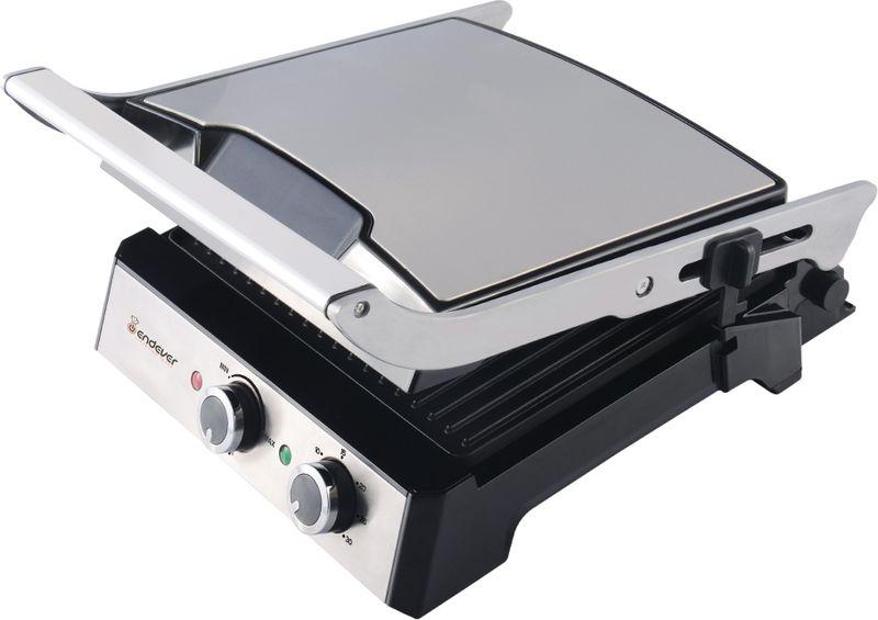 Электрогриль Endever 230-Grillmaster, Black Gray
