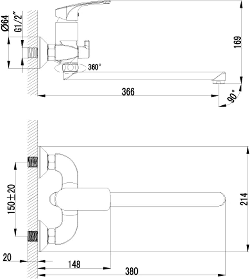 plus SHAPE LM1751CСмеситель универсальный с плоским поворотным изливом 300 мм.Комплектация:• аэратор• керамический картридж 35 мм• переключатель с керамическими пластинами• аксессуары в комплекте: шланг 1,5 м, настенное фиксированное крепление, 1-функциональная лейка• металлическая рукояткаСмесители LEMARK рассчитаны на 30 лет комфортной эксплуатации.В них соединены современные технологии производства и продуманный конструктив. Установлены комплектующие от известных мировых производителей, являющихся лидерами в своих сегментах:• немецкие аэраторы Neoperl – устройства, регулирующие расход воды;• керамические картриджи и кран-буксы испанской фирмы Sedal.Вся продукция LEMARK устанавливается не только в частном секторе, но и с успехом эксплуатируется в офисах Hewlett-Packard, Walt Disney Studios Sony Pictures Releasing, Mail.ru Group, а также в новом терминале аэропорта «Толмачево» в Новосибирске.Сегодня на смесители LEMARK установлен беспрецедентный 10-летний период бесплатного сервисного обслуживания. Данное условие действует, даже если монтаж изделий производится покупателями cамостоятельно.Сервисная сеть насчитывает 90 гарантийных мастерских по России и странам СНГ.