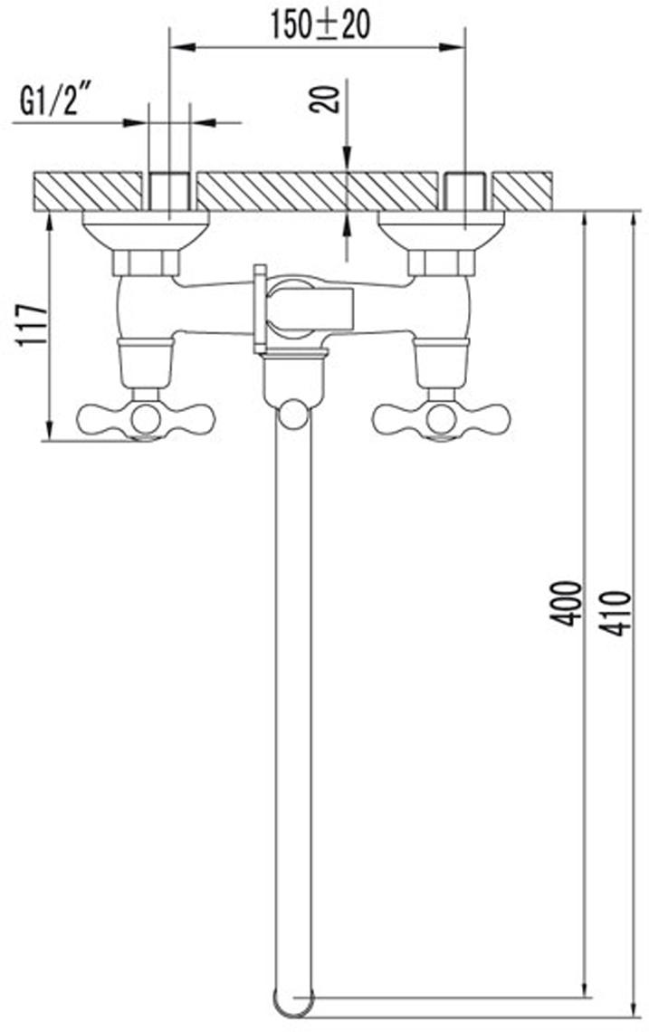 """Смеситель универсальный Lemark """"Standard"""" с круглым поворотным изливом 350 мм. Кран-буксы с керамическими пластинами (угол поворота – 180 градусов). Смеситель крепится на стену и имеет флажковый переключатель. Смеситель снабжен аэратором, который обеспечивает низкий уровень шума и делает струю воды равномерной и приятной на ощупь.  Смесители LEMARK рассчитаны на 30 лет комфортной эксплуатации.В них соединены современные технологии производства и продуманный конструктив. Установлены комплектующие от известных мировых производителей, являющихся лидерами в своих сегментах:• немецкие аэраторы Neoperl – устройства, регулирующие расход воды;• керамические картриджи и кран-буксы испанской фирмы Sedal."""