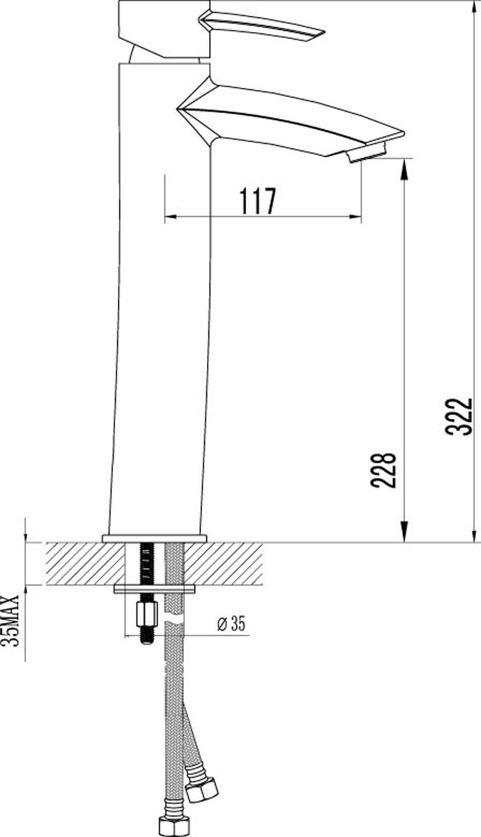 """ATLANTISS LM3209C.Смеситель для умывальника монолитный.Комплектация:• аэратор Neoperl® Cascade®• эко-картридж 35 мм• гибкая подводка 1/2"""" 35 см• металлическая рукояткаСмесители LEMARK рассчитаны на 30 лет комфортной эксплуатации.В них соединены современные технологии производства и продуманный конструктив. Установлены комплектующие от известных мировых производителей, являющихся лидерами в своих сегментах:• немецкие аэраторы Neoperl – устройства, регулирующие расход воды;• керамические картриджи и кран-буксы испанской фирмы Sedal.Вся продукция LEMARK устанавливается не только в частном секторе, но и с успехом эксплуатируется в офисах Hewlett-Packard, Walt Disney Studios Sony Pictures Releasing, Mail.ru Group, а также в новом терминале аэропорта «Толмачево» в Новосибирске.Сегодня на смесители LEMARK установлен беспрецедентный 10-летний период бесплатного сервисного обслуживания. Данное условие действует, даже если монтаж изделий производится покупателями cамостоятельно.Сервисная сеть насчитывает 90 гарантийных мастерских по России и странам СНГ."""