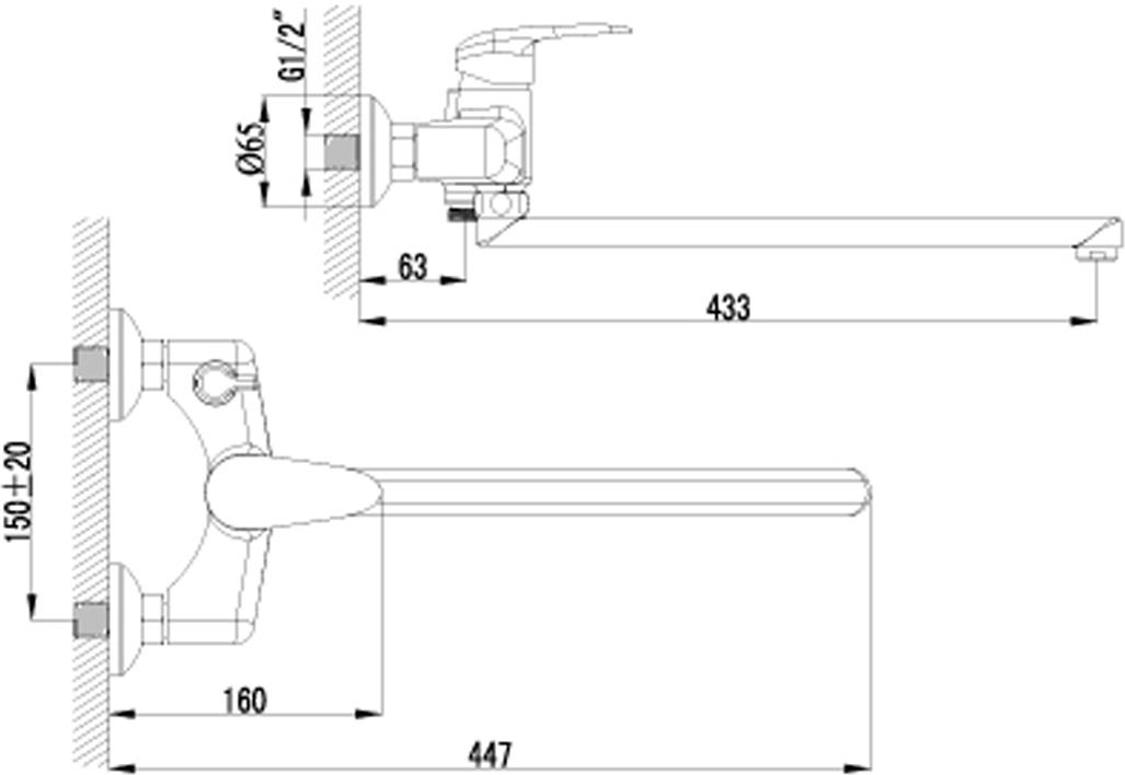 Смеситель универсальный с плоским поворотным изливом 350 мм.Комплектация: аэратор; керамический картридж; переключатель с керамическими пластинами; аксессуары в комплекте: шланг 1,5 м, настенное поворотное крепление, 1-функциональная лейка$ металлическая рукоятка. Смесители LEMARK рассчитаны на 30 лет комфортной эксплуатации.В них соединены современные технологии производства и продуманный конструктив. Установлены комплектующие от известных мировых производителей, являющихся лидерами в своих сегментах:.если монтаж изделий производится покупателями cамостоятельно.Сервисная сеть насчитывает 90 гарантийных мастерских по России и странам СНГ.