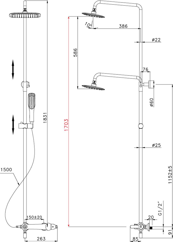 Серия SWAN.Комплектация:АэраторКерамический картридж 35 ммТрехпозиционный картриджный переключательВерхняя поворотная душевая лейка «Тропический дождь» 250x220 мм1-функциональная лейка 57x129 ммРегулируемое по высоте крепление для лейкиДушевой шланг 1,5 мМеталлическая рукоятка