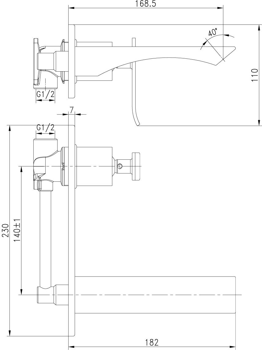 CONTEST - серия смесителей с изысканным дизайном в серебристо-белых тонах.Комплектация:Каскадный регулятор расхода водыКерамический картридж Sedal®35 ммМеталлическая рукоятка