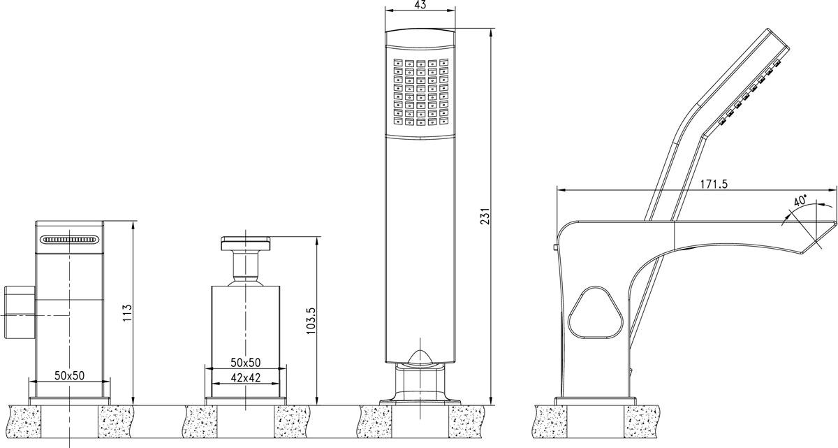 CONTEST - серия смесителей с изысканным дизайном в серебристо-белых тонах.Комплектация:Каскадный регулятор расхода водыКерамический картридж Sedal®35 ммПереключатель с керамическими пластинамиАксессуары в комплекте: шланг 2 м, свинцовый отвес, 1-функциональная лейка 43x48 ммМеталлическая рукоятка