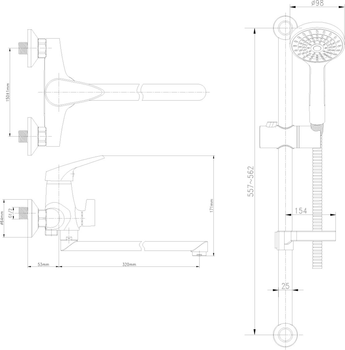 Смесители LEMARK рассчитаны на 30 лет комфортной эксплуатации.В них соединены  современные технологии производства и продуманный конструктив. Установлены  комплектующие от известных мировых производителей, являющихся лидерами в своих  сегментах: немецкие аэраторы Neoperl - устройства, регулирующие расход воды;  керамические картриджи и кран-буксы испанской фирмы Sedal.Вся продукция  LEMARK устанавливается не только в частном секторе, но и с успехом эксплуатируется в  офисах Hewlett-Packard, Walt Disney Studios Sony Pictures Releasing, Mail.ru Group, а также в  новом терминале аэропорта «Толмачево» в Новосибирске.Сегодня на смесители  LEMARK установлен беспрецедентный 10-летний период бесплатного сервисного  обслуживания. Данное условие действует, даже если монтаж изделий производится  покупателями самостоятельно.Сервисная сеть насчитывает 90 гарантийных мастерских  по России и странам СНГ. Смеситель универсальный с плоским поворотным изливом 350 мм. аэратор  керамический картридж 35 мм переключатель с керамическими пластинами  металлическая рукояткаДушевой гарнитур. стойка для душа. Высота - 595 мм 1-функциональная лейка O98 мм. Режим: распыление регулируемое по высоте  крепление для лейки душевой шланг 1,5 м (стальной, оплетка с двойным загибом)  регулируемая по высоте мыльница.