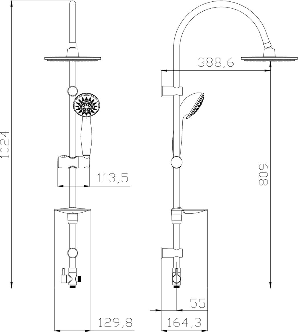 LM8801C.Душевой гарнитур с фиксированной высотой штанги и верхней душевой лейкой «Тропический дождь».Комплектация:• 5-функциональная лейка O85 мм. Режимы: распыление, массаж, брызги шампанского, эко-режим, пауза• верхняя поворотная душевая лейка «Тропический дождь» O200 мм• переключатель с керамическими пластинами• регулируемое по высоте крепление для лейки• регулируемая по высоте мыльница• душевой шланг 1,5 м (стальной, оплетка с двойным загибом)• шланг 0,8 м для подключения к смесителю (стальной, оплетка с двойным загибом)Смесители LEMARK рассчитаны на 30 лет комфортной эксплуатации.В них соединены современные технологии производства и продуманный конструктив. Установлены комплектующие от известных мировых производителей, являющихся лидерами в своих сегментах:• немецкие аэраторы Neoperl – устройства, регулирующие расход воды;• керамические картриджи и кран-буксы испанской фирмы Sedal.Вся продукция LEMARK устанавливается не только в частном секторе, но и с успехом эксплуатируется в офисах Hewlett-Packard, Walt Disney Studios Sony Pictures Releasing, Mail.ru Group, а также в новом терминале аэропорта «Толмачево» в Новосибирске.Сегодня на смесители LEMARK установлен беспрецедентный 10-летний период бесплатного сервисного обслуживания. Данное условие действует, даже если монтаж изделий производится покупателями cамостоятельно.Сервисная сеть насчитывает 90 гарантийных мастерских по России и странам СНГ.