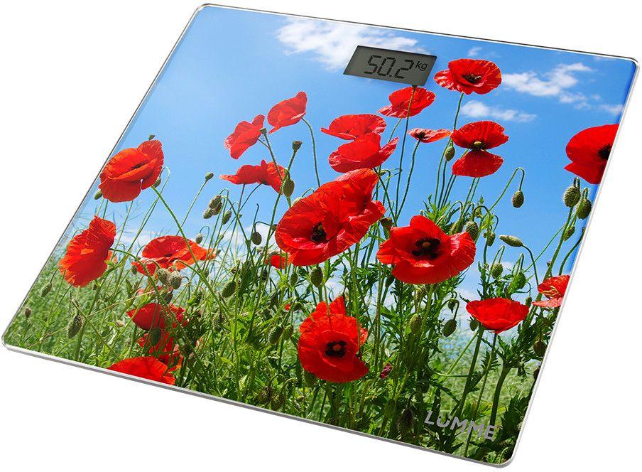 Lumme LU-1328 Красные маки, Red весы напольные