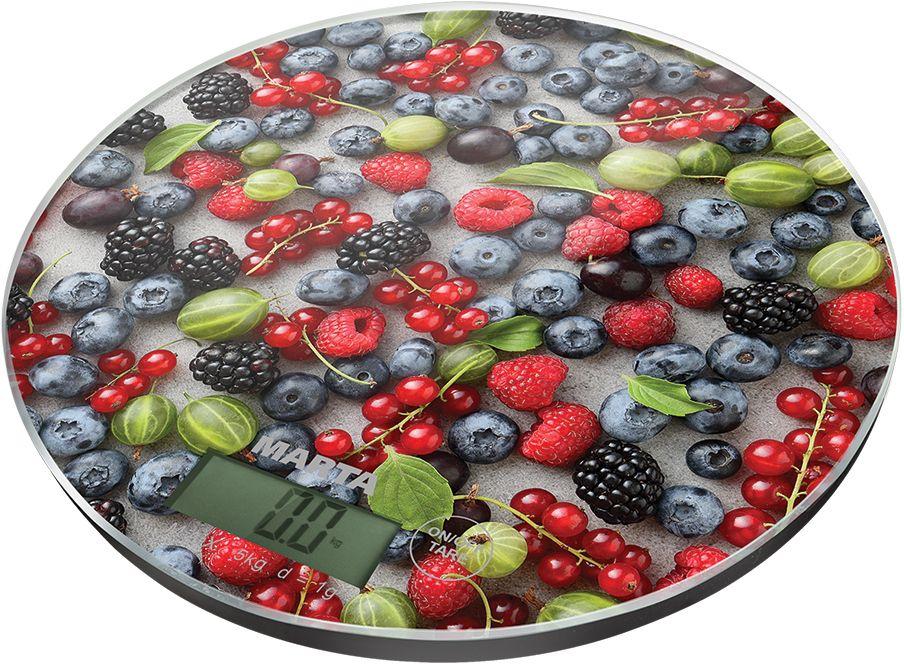 Marta MT-1635 Ягодный микс весы кухонные