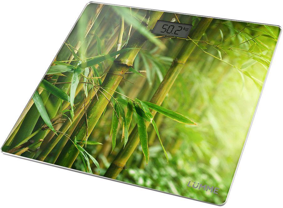 Lumme LU-1328 Бамбуковый лес, Green весы напольные