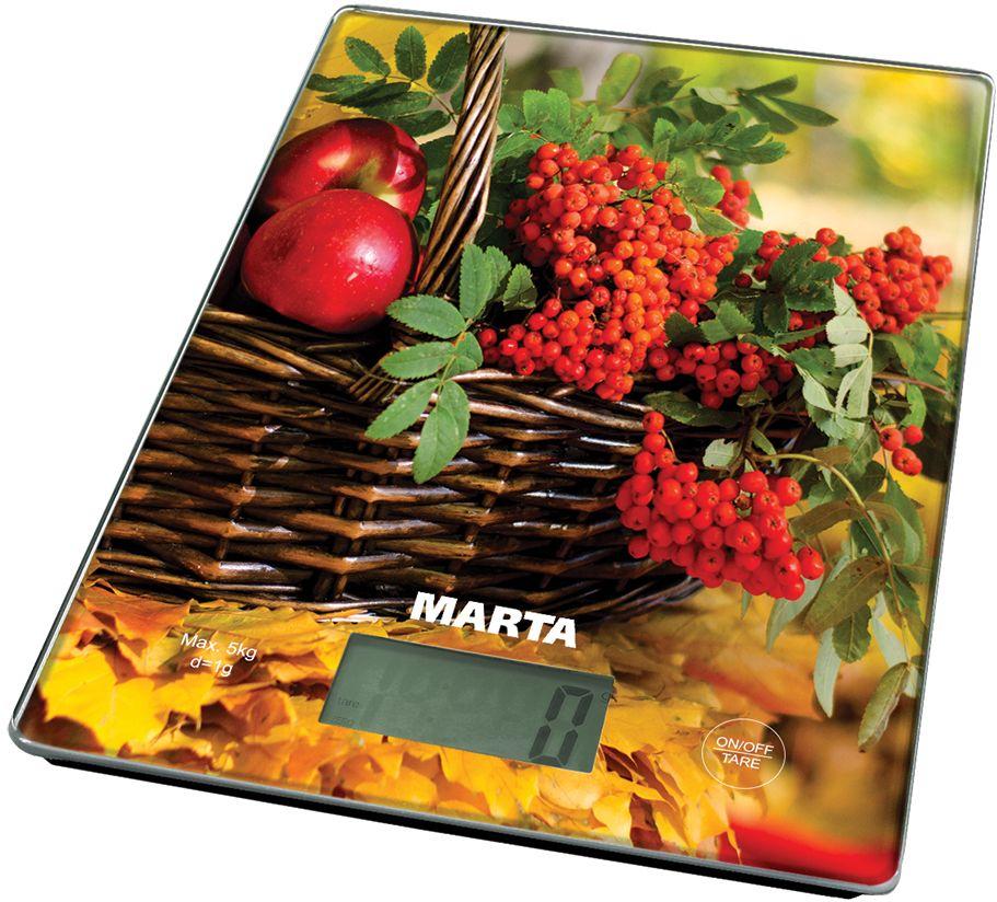 Marta MT-1634 Осенний день весы кухонные