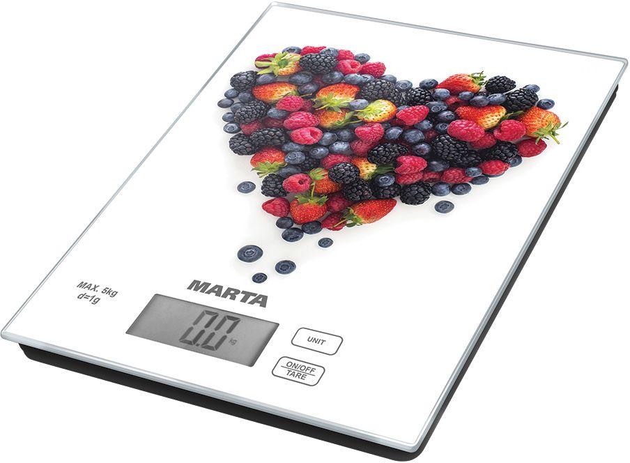 Marta MT-1636 Ягодный микс весы кухонные