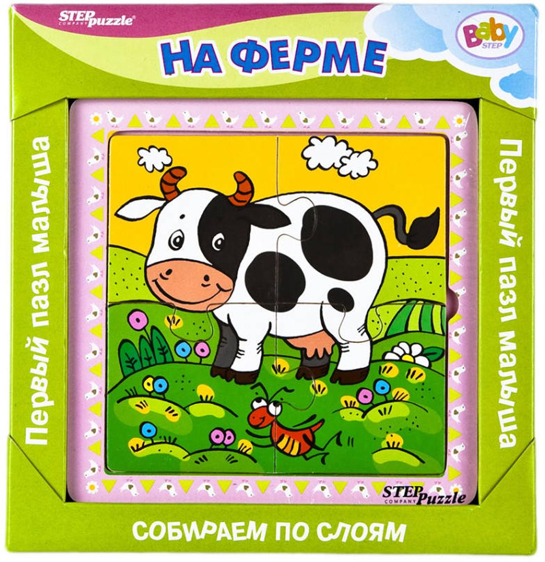 Step Puzzle Обучающая игра Собираем по слоям На ферме корвет обучающая игра удивляйка 1