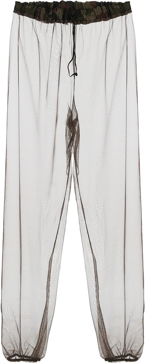 """Противомоскитные штаны """"Eva"""" изготовлены из сетчатого полиэстера. Мельчайший размер ячеек сетки обеспечивает высокую защиту от самых мелких кровососущих насекомых: мошек, москитов, комаров, клещей. Пояс штанов оснащен удобным затяжным шнурком с фиксатором, манжеты на резинках."""