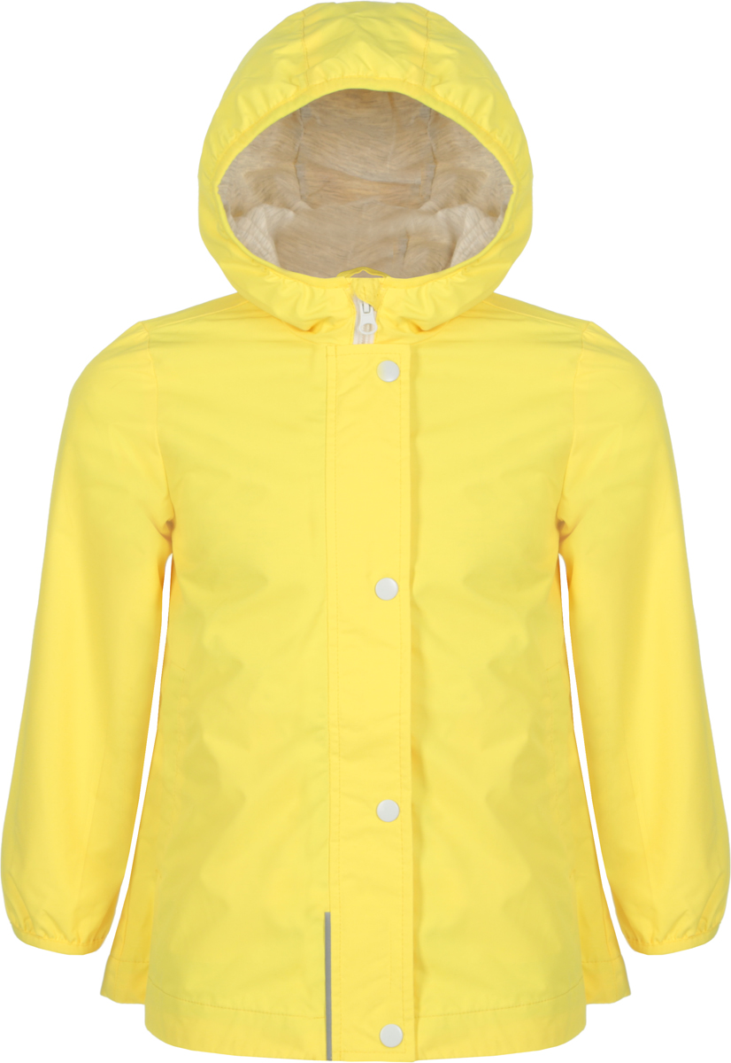 Плащ для девочки Sela, цвет: желтый. Ct-526/653-8263. Размер 116Ct-526/653-8263