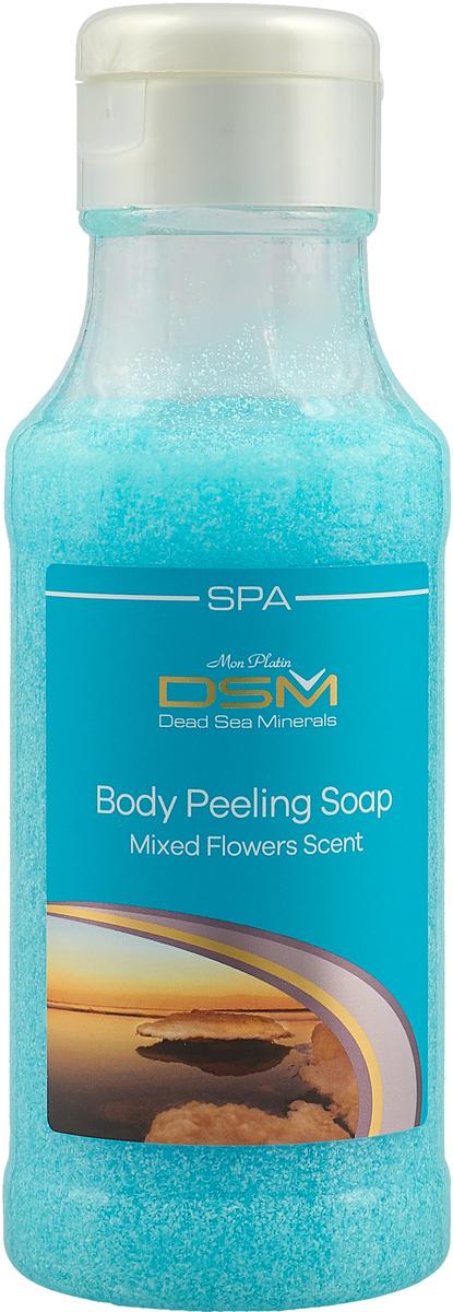 Mon Platin DSM Мыло-пилинг для тела (цветы) 400 мл mon platin dsm дезодорант для женщин чувственность 80 мл
