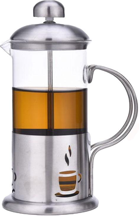 Френч-пресс Olaff, 350 мл. VL-02/350VL-02/350Френч-пресс Olaff - это совершенный чайник для ежедневного использования. Корпус выполнен из стекла и нержавеющей стали. Чайник с плотной крышкой и удобной ручкой имеет специальный фильтр для отделения чайных листьев от воды, а также пресс. После заваривания чая фильтр не надо вынимать. Заваривание чая в чайнике OLAFF - это приятное и легкое занятие. Заварочный чайник займет достойное место на вашей кухне. Современный дизайн полностью соответствует последним модным тенденциям в создании предметов бытовой техники.