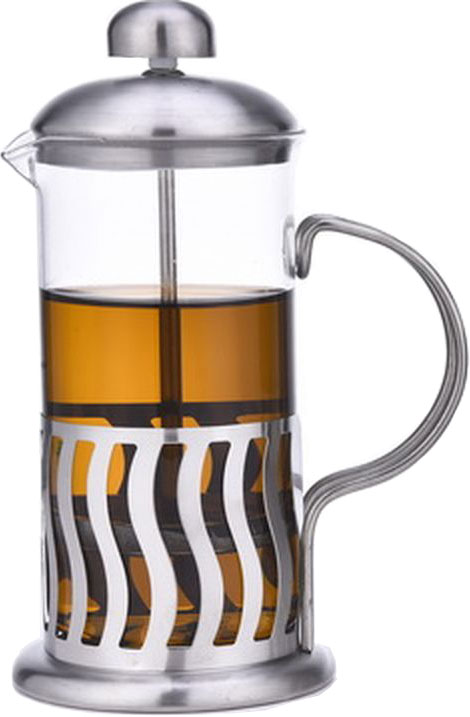 """Френч-пресс """"Olaff"""" - это совершенный чайник для ежедневного использования. Корпус выполнен из стекла и нержавеющей стали. Чайник с плотной крышкой и удобной ручкой имеет специальный фильтр для отделения чайных листьев от воды, а также пресс. После заваривания чая фильтр не надо вынимать. Заваривание чая в чайнике """"OLAFF"""" - это приятное и легкое занятие. Заварочный чайник займет достойное место на вашей кухне. Современный дизайн полностью соответствует последним модным тенденциям в создании предметов бытовой техники."""