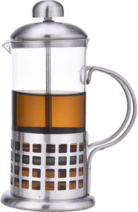 Френч-пресс Olaff, 600 мл. VL-06/600VL-06/600Френч-пресс Olaff - это совершенный чайник для ежедневного использования. Корпус выполнен из стекла и нержавеющей стали. Чайник с плотной крышкой и удобной ручкой имеет специальный фильтр для отделения чайных листьев от воды, а также пресс. После заваривания чая фильтр не надо вынимать. Заваривание чая в чайнике OLAFF - это приятное и легкое занятие. Заварочный чайник займет достойное место на вашей кухне. Современный дизайн полностью соответствует последним модным тенденциям в создании предметов бытовой техники.