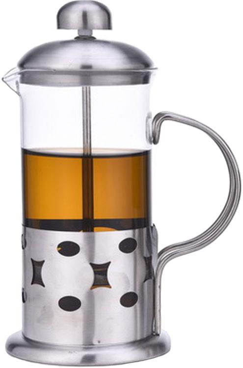 Френч-пресс Olaff, 600 мл. VL-09/600VL-09/600Френч-пресс Olaff - это совершенный чайник для ежедневного использования. Корпус выполнен из стекла и нержавеющей стали.Чайник с плотной крышкой и удобной ручкой имеет специальный фильтр для отделения чайных листьев от воды, а также пресс. После заваривания чая фильтр не надо вынимать.Заваривание чая в чайнике OLAFF - это приятное и легкое занятие. Заварочный чайник займет достойное место на вашей кухне.Современный дизайн полностью соответствует последним модным тенденциям в создании предметов бытовой техники.