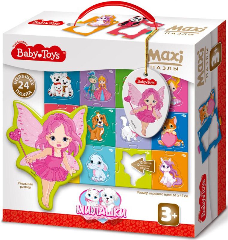 Baby Toys Пазл для малышей Maxi Милашки